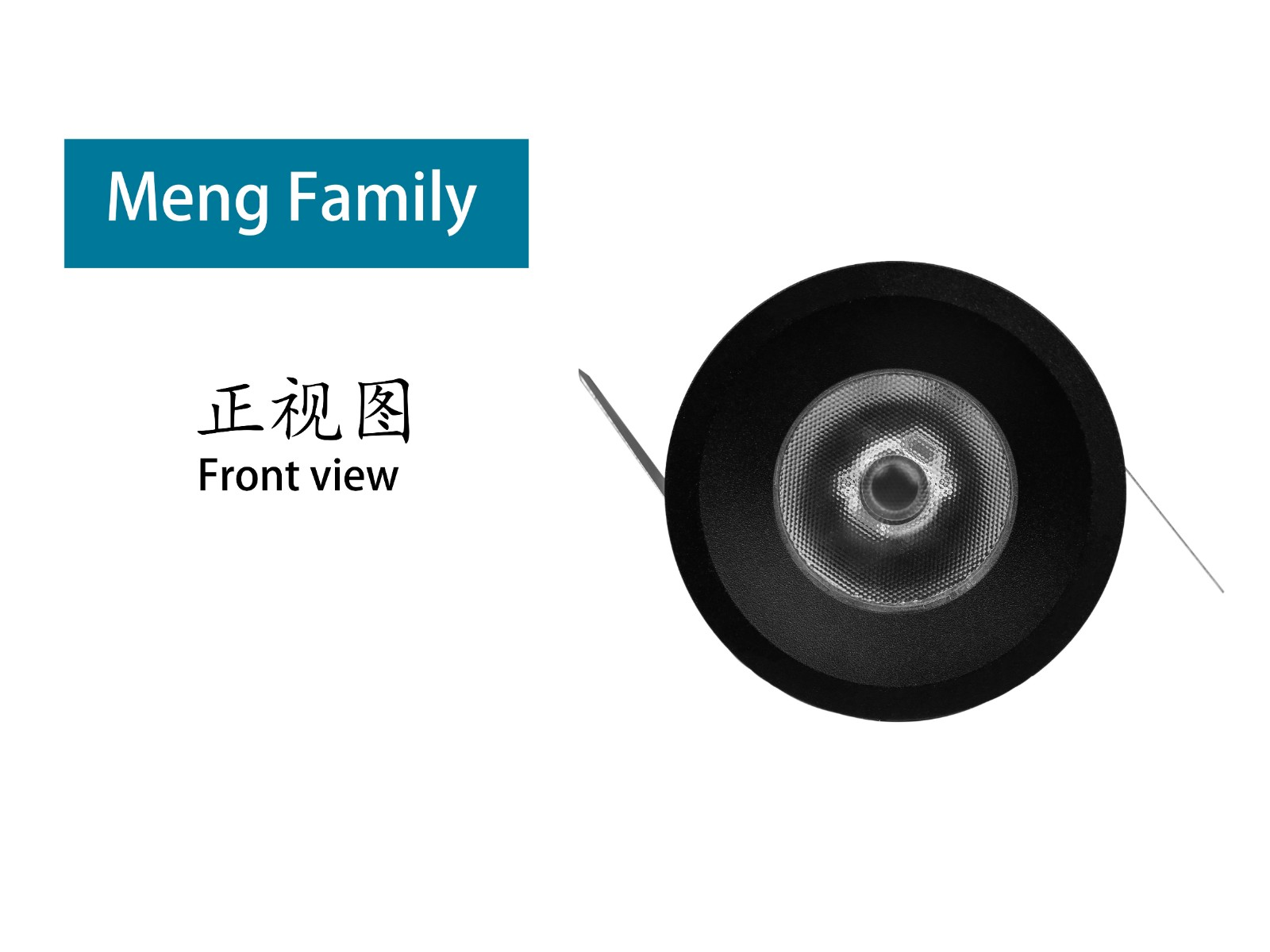 Mingfa Tech-New Product Pre-sale| Exquisite Compact Recessed Led Ceiling Spotlight-meng-1